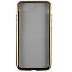 Чехол-накладка для Samsung Galaxy A8 Plus 2018 A730 (iBox Blaze YT000014041) (золотистая рамка) - Чехол для телефона  - купить со скидкой