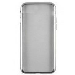 Чехол-накладка для Samsung Galaxy A8 Plus 2018 A730 (iBox Blaze YT000014042) (серебристая рамка) - Чехол для телефона  - купить со скидкой
