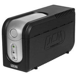 Powercom Imperial IMP-825AP - Источник бесперебойного питания, ИБПИсточники бесперебойного питания<br>Powercom Imperial IMP-825AP - интерактивный источник бесперебойного питания, 1-фазное входное напряжение, выходная мощность 825 ВА 495 Вт, выходных разъемов: 5 (с питанием от батарей - 3), интерфейсы: USB, время зарядки 6 ч, форма выходного сигнала: ступенчатая аппроксимация синусоиды