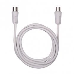 Кабель TV (m)-TV (f) 1.5м (Ritmix RCC-073) (белый) - Кабель, переходник для TV и видеоКабели, переходники для TV и видео<br>Ritmix RCC-073 – удлинительный антенный кабель для подсоединения ТВ-антенн к воспроизводящим устройствам. Длина кабеля: 1.5 м.