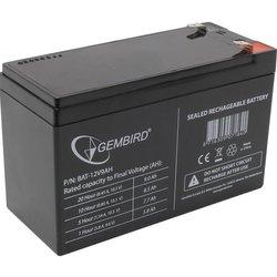 Gembird BAT-12V9AH - Батарея для ибпАккумуляторные батареи<br>Батарея для UPS, напряжение питания: 12В, емкость аккумулятора:9 Ач, клемма F2.