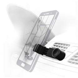 Универсальный автомобильный держатель ( Hama 00173890) (черный) - Автомобильный держатель для телефона Еланец громкая связь для автомобиля купить