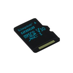 Kingston microSDXC 128GB Class 10 UHS-I U3 w/o adapter (SDCG2/128GBSP) - Карта флэш-памяти