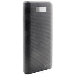 Gmini GM-PB-200TC (черный) - Внешний аккумуляторУниверсальные внешние аккумуляторы<br>20000 мАч, USBx2, макс. ток 2.10 А, фонарик, вес 440 г.