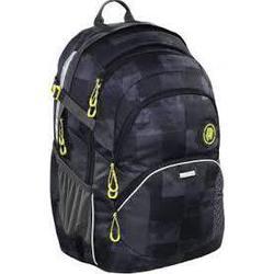 Рюкзак Coocazoo JobJobber2 Mamor Check (черный, серый) - Ранец, рюкзак, сумка, папкаРюкзаки и ранцы для школы<br>Рюкзак для школы и отдыха с местом для документов (А4), бутылки с водой и личных вещей. Задняя обивка из мягкой воздушной сетки для удобной посадки.