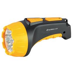 Фонарь светодиодный Ultraflash LED3807 (черный/желтый) - ФонарьФонари<br>Ultraflash LED3807 - фонарь светодиодный, аккумуляторный, степень защиты: IP22, дистанция освещения: 25 м, световой поток: 25 Лм, источники света: 7 LED. Материал: пластик, цветовая температура: 8000K, элементы питания: герметичный свинцово-кислотный аккумулятор 4 вольт 0.7 Ач. Количество режимов освещения: 2, время работы до 7 часов, потребляемая мощность: 0.9 Вт.