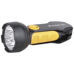 Фонарь светодиодный Ultraflash LED3816 (черный/желтый) - ФонарьФонари<br>Ultraflash LED3816 - фонарь светодиодный, аккумуляторный, степень защиты: IP22, дистанция освещения: 22 м, световой поток: 35 Лм, источники света: 9 LED. Материал: пластик, цветовая температура: 8000K, элементы питания: герметичный свинцово-кислотный аккумулятор 4 вольт 0.7 Ач. Количество режимов освещения: 1, время работы до 4.5 часов, потребляемая мощность: 1.2 Вт.