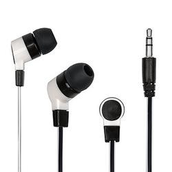 Dialog EP-05 (белый) - НаушникиНаушники и Bluetooth-гарнитуры<br>Размер динамика - 10 (мм), частотный диапазон 20 Гц - 20 кГц, вкладыши, плоский кабель 1.2 м, симметричный, тип разъема - 3.5 мм стереоджек.