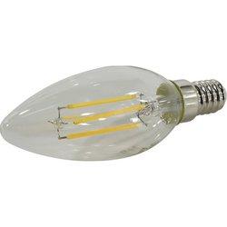 Светодиодная лампа Smartbuy SBL-C37F-7-30K-E14 - ЛампочкаЛампочки<br>Светодиодная лампа для замены обычной лампы накаливания с цоколем E14 (миньон). Эквивалент лампы накаливания мощностью 40 Вт.