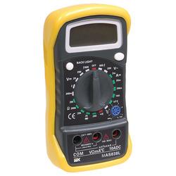 Мультиметр Master MAS838L IEK (TMD-3L-838) - Мультиметр, тестерМультиметры и тестеры<br>Мультиметры представляют собой комбинированные электроизмерительные приборы, объединяющие в себе несколько функций (в минимальном наборе это вольтметр, амперметр и омметр).