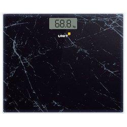 UNIT UBS-2058 (черный) - Напольные весыНапольные весы<br>Электронные весы, макс. 180 кг, точность 0.1 кг.