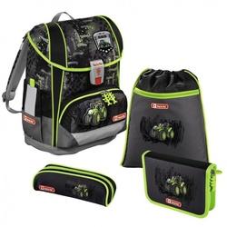 Ранец Step By Step Light2 Green Tractor - Ранец, рюкзак, сумка, папкаРюкзаки и ранцы для школы<br>Удобный школьный ранец с внутренним объемом в 18 л. Просторный основной отсек позволяет размещать в нем тяжелые и большие учебники.