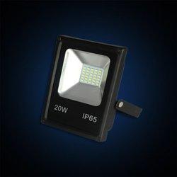 Falcon Eye FE-CF20LED-pro (черный) - Садовый прожекторПрожекторы<br>Мощность: 20 Вт, световой поток: 1400 Лм, цветовая температура: 6000-6500К, входное напряжение: 85-265В, класс защиты: IP65.