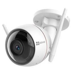 Ezviz Husky Air 1080P 4мм (белый) - Камера видеонаблюденияКамеры видеонаблюдения<br>Уличная беспроводная Wi-Fi IP-камера, объектив 4мм, матрица: CMOS, размер матрицы: 1/2.7quot;, ИК-подсветка до 30м.