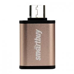 Адаптер USB-A 3.0 - USB Type-C (Smartbuy SBR-OTG05-GD) (золотистый) - Кабели