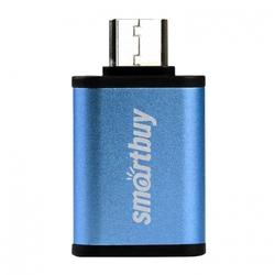 Адаптер USB-A 3.0 - USB Type-C (Smartbuy SBR-OTG05-B) (синий) - Кабели