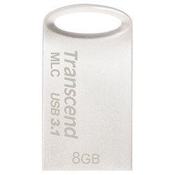 Флешка Transcend JetFlash 720S 8Gb - USB Flash driveUSB Flash drive<br>Флешка Transcend JetFlash 720S 8Gb - 8 Гб, USB 3.1, водонепроницаемый корпус, материал корпуса: металл