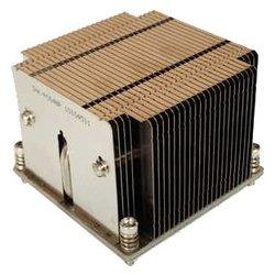 Supermicro SNK-P0048P - Кулер, охлаждениеКулеры и системы охлаждения<br>Supermicro SNK-P0048P - кулер для процессора, совместим с сокетами S2011, бесшумное пассивное охлаждение (без вентилятора), радиатор из алюминия и меди