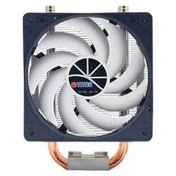 Titan TTC-NC15TZ/KU(RB) - Кулер, охлаждениеКулеры и системы охлаждения<br>Titan TTC-NC15TZ/KU(RB) - кулер для процессора, совместим с сокетами S775, S1155/1156, S1366, AM2, AM2+, AM3/AM3+/FM1, S754, S939, S940, включает 1 вентилятор диаметром 120 мм, скорость вращения 800 - 2200 об/мин, радиатор из алюминия и меди, уровень шума 15 - 35 дБ