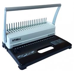 Kobra Qeenbind H500 - ПереплетчикПереплетчики (Брошюраторы, брошюровщики)<br>Переплетчик, формат документа - A4, кол-во перфорируемых листов MAX - 14, кол-во сшиваемых листов MAX - 500, тип переплета - на пластиковую пружину, тип перфорации - механическая, размер пружины -51мм.