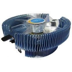 Ice Hammer IH-3075 WV - Кулер, охлаждениеКулеры и системы охлаждения<br>Ice Hammer IH-3075 WV - кулер для процессора, совместим с сокетами S775, AM2, S754, S939, S940, включает 1 вентилятор, скорость вращения 2000 об/мин, радиатор из алюминия, уровень шума 20 дБ, цвет подсветки: синий