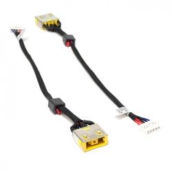 Разъем питания для ноутбука Lenovo IdeaPad G400, G490, G500, G505 Series (11x4.5 mm) (PJ608) - Разъем питанияРазъемы питания<br>Разъем питания PJ608 для ноутбука Lenovo IdeaPad G400, G490, G500, G505 Series. Под коннектор 11 на 4.5 мм с иглой. С кабелем 14.5 см. PN: DC30100P200, DC30100NX00.