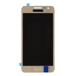 Дисплей для Samsung Galaxy A3 SM-A300 в сборе (0L-00038652) (золотистый) - Дисплей, экран для мобильного телефонаДисплеи и экраны для мобильных телефонов<br>Полный заводской комплект замены дисплея для Samsung Galaxy A3 SM-A300. Стекло, тачскрин, экран для Samsung Galaxy A3 SM-A300. Если вы разбили стекло - вам нужен именно этот комплект, который поставляется со всеми шлейфами, разъемами, чипами в сборе.