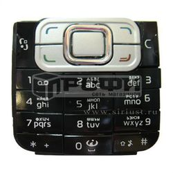 Клавиатура для Nokia 6120 Classic (М0018168) (черный) - Клавиатура для мобильного телефона
