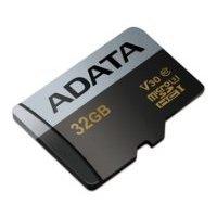 ADATA Premier Pro microSDHC UHS-I U3 V30 Class 10 (R95/W90) 32GB + SD adapter - Карта флэш-памятиКарты флэш-памяти<br>microSDHC, 32 Гб, скорость чтения 95 Мб/с, скорость записи 90 Мб/с, UHS Class 3, V30.