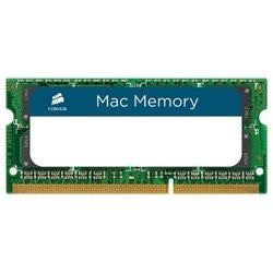 Corsair CMSA8GX3M1A1600C11 - Память для компьютераМодули памяти<br>Corsair CMSA8GX3M1A1600C11 - 1 модуль памяти DDR3, объем модуля 8 Гб, форм-фактор SODIMM, 204-контактный, частота 1600 МГц, CAS Latency (CL): 11