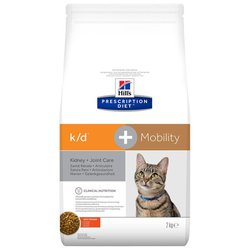 Hill's Prescription Diet (2 кг) K/D+Mobility Feline with Chicken dry