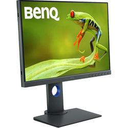 Benq SW240 (черный) - МониторМониторы<br>Монитор Benq 24.1quot;, черный, IPS, LED, 5ms, 16:10, DVI, HDMI, матовая, 20000000:1, 250cd, 178гр/178гр, 1920x1200, D-Sub, DisplayPort, FHD, USB.