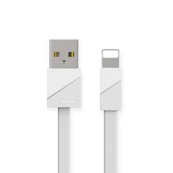 Кабель USB-Lightning 1м (Remax Blade Series Cable RC-105i) (белый) - КабелиUSB-, HDMI-кабели, переходники<br>Кабель для синхронизации и зарядки устройств, разъемы: USB-Lightning. Изготовлен из высококачественных материалов. Длина кабеля: 1 м.