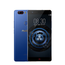 ZTE Nubia Z17 Lite (синий) ::: - Мобильный телефонМобильные телефоны<br>Смартфон ZTE Nubia Z17 Lite - GSM, LTE, смартфон, Android 7.1, вес 168 г, ШхВхТ 72.55x152.75x7.6 мм, экран 5.5quot;, 1920x1080, Bluetooth, NFC, Wi-Fi, GPS, ГЛОНАСС, фотокамера 13 МП, память 64 Гб, аккумулятор 3200 мА?ч