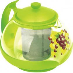 Чайник заварочный MALLONY Decotto-G-750 - Посуда для готовкиПосуда для готовки<br>Изготовлен из жаропрочного стекла. Посуда из данного материала позволяет максимально сохранить полезные свойства и вкусовые качества воды.