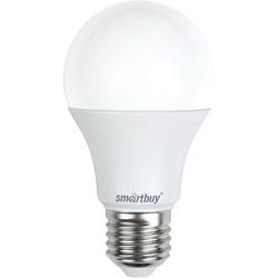 Светодиодная лампа Smartbuy SBL-A60-07-60K-E27 - ЛампочкаЛампочки<br>Хорошая цветопередача. Отсутствие мерцания обеспечивает меньшую утомляемость глаз. Высокоэффективный драйвер обеспечивает стабильную работу.