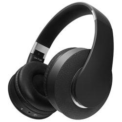 Наушники Ginzzu GM-751BT - НаушникиНаушники и Bluetooth-гарнитуры<br>Наушники Ginzzu GM-751BT - Bluetooth-наушники с микрофоном, накладные, поддержка iPhone, 32 Ом, 110 дБ, разъем mini jack 3.5 mm, время работы 6 ч, поддержка Bluetooth 4.2