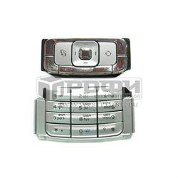 Клавиатура для Nokia N95 (М0015348) (серебристый) - Клавиатура для мобильного телефонаКлавиатуры для мобильных телефонов<br>Если клавиатура вышла из строя или просто стерлись надписи на кнопках, замените ее и Ваше устройство будет как новое.