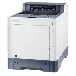 Принтер KYOCERA ECOSYS P6235cdn - Принтер, МФУПринтеры и МФУ<br>Принтер KYOCERA ECOSYS P6235cdn - принтер, A4, печать  лазерная цветная, двусторонняя, 4-цветная, 35 стр/мин ч/б, 35 стр/мин цветн., 1200x1200 dpi, подача: 600 лист., вывод: 500 лист., Post Script, память: 1024 Мб, Ethernet RJ-45, USB, картридер, ЖК-панель