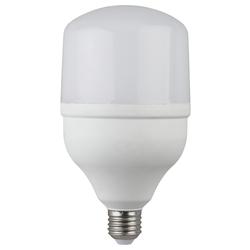 Светодиодная лампа ЭРА LED smd POWER 30W-2700-E27 - ЛампочкаЛампочки<br>ЭРА LED smd POWER 30W-2700-E27 - светодиодная лампа, высота: 166, диаметр: 180, индекс цветопередачи: Ragt;80, мощность: 30W, напряжение: 175-265V, светоотдача: 80 Lm/W, цветовая температура: 2700K, цоколь: Е27, диапазон рабочих температур: - 25..+50°C. Материал: стекло, пластик, металл. Световой поток: 2400 Lm, совместимость с выключателем с подсветкой.