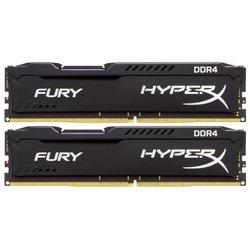Kingston HyperX Fury HX432C18FB2K2/16 - Память для компьютераМодули памяти<br>2 модуля памяти 16Гб, объем одного модуля 8Гб, DIMM DDR4, частота 3200 МГц, CL 18, радиатор.