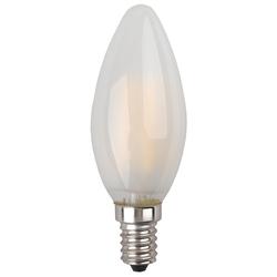 Светодиодная лампа ЭРА F-LED B35-5w-840-E14 frozed - Лампочка