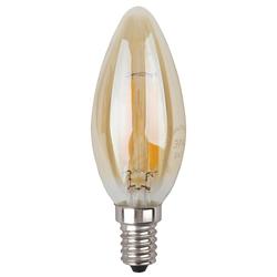 Светодиодная лампа ЭРА F-LED B35-7w-827-E14 gold - Лампочка