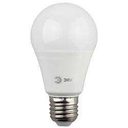Светодиодная лампа ЭРА LED smd A60-13W-840-E27.. - ЛампочкаЛампочки<br>ЭРА LED smd A60-13W-840-E27.. - светодиодная лампа, высота: 110 мм, диаметр: 60 мм, индекс цветопередачи: Ragt;80, мощность: 13W, напряжение: 170-265V, светоотдача: 80 Lm/W, цветовая температура: 4000K, цоколь: E27, световой поток: 1040 Lm. Материал: пластик, металл. Совместимость с выключателем с подсветкой.