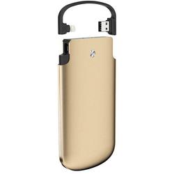 Zikko PowerBag 6000 (золотистый) - Внешний аккумуляторУниверсальные внешние аккумуляторы<br>Zikko PowerBag 6000 - внешний аккумулятор, емкость: 6000 mAh, вход: USB тип A, выход: Lightning, сила тока на выходе: 2.4 А, сертификация MFI, количество выходов для зарядки: 1, материал корпуса: пластик, LED-индикация.