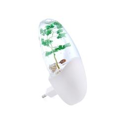 Светильник СТАРТ NL 1LED (лоза) - ОсвещениеНастольные лампы и светильники<br>Компактный светильник-ночник прекрасно подходит для использования в темное время суток в спальнях, коридорах, детских комнатах – теплый свет мягко освещает помещение ночью, не мешая другим членам семьи.