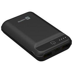 HARPER PB-2612 (черный) - Внешний аккумуляторУниверсальные внешние аккумуляторы<br>Аккумулятор емкостью 12000 мАч, максимальный ток 2 А, два разъема USB, переходник на micro USB, фонарик.