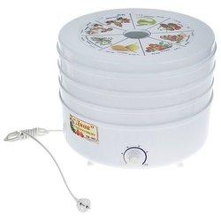 Сушилка Ротор Дива СШ-007 (3 поддона, белый) - Сушилка для овощей, фруктов, грибовЭлектросушилки для овощей, фруктов, грибов<br>Сушилка Ротор Дива СШ-007 (3 поддона, белый) - конвективная сушилка, механическое управление, мощность 520 Вт, число поддонов: 3, регулировка температуры сушки