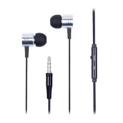 BLAST BAH-291 (хром) - НаушникиНаушники и Bluetooth-гарнитуры<br>Гарнитура, шнур 1.2 м, диапазон частот наушников: 10-28000 Гц, сопротивление наушников: 32 Ом, чувствительность наушников: 103 дБ, коннектор 3.5 мм 4-х пиновый.