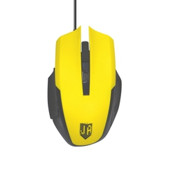 Jet.A Comfort OM-U54 (желтый) - МышьМыши<br>Мышь, 2400 dpi, USB, длина кабеля - 1.5м.